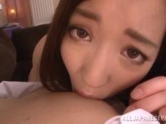 Captivating Asian teen Raina in hot sex session