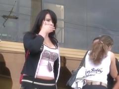 Extra hot chick gets voyeured  on hidden camera