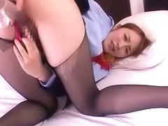 Exotic Japanese whore Miku Ohashi in Horny Medical, Handjobs JAV video