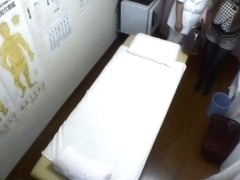 Candid medical massage voyeur video featuring fresh Asian girl