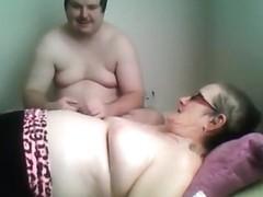 Massaging my girlfriend