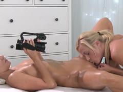 Amazing pornstars Cristin Caitlin, Angel Piaff, Vinna Reed in Hottest Romantic, Cunnilingus xxx vi.
