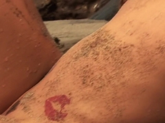 Hottest pornstar Dahlia Sky in crazy tattoos, masturbation porn clip