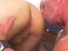 Homo Pigs - Eating cum, double fucking, bareback