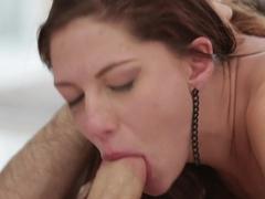 Hottest pornstars James Deen, Ashlyn Molloy in Exotic Cumshots, Redhead sex clip