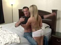 Amazing pornstar Chloe Addison in best cumshots, old and young xxx movie