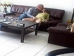 Clariss hidden livecam living room engulf fuck boyfriend