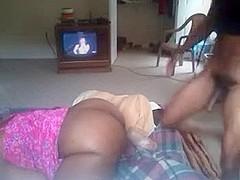 Banging big booty ebony bitch hard