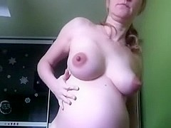 My preggo belly on a sexy chat
