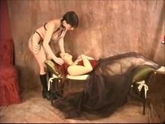 Gothic Milf Lesbian Bondage