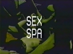 Slow dildo sex as the spa procedure