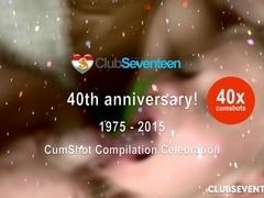 40x cumshot compilation