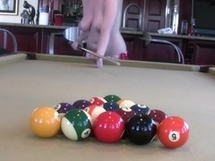 Nice Billiards Game Of Strip Pool With Some Stripper Friends