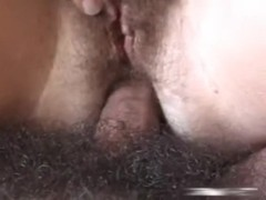 Cock for her bush deep inside