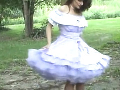 Amazing gay video with Latin, Crossdressing scenes