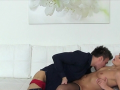 Horny pornstar in Hottest MILF, Stockings porn movie
