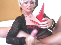 Exotic shemale scene with Blowjob, Mature scenes