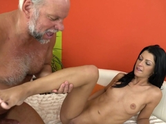 Hottest pornstars Albert, Vivien Bell in Incredible Small Tits, Oldie adult movie