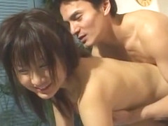 Horny Japanese whore Shiori Mizuno in Best Facial JAV scene