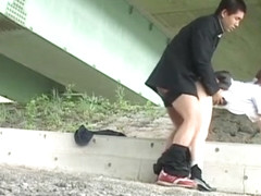 Amazing Japanese chick Meina Minami in Horny Public, Voyeur JAV video