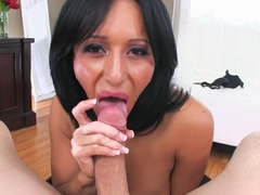 Horny pornstar Faustine Lee in Amazing Big Tits, Blowjob sex scene
