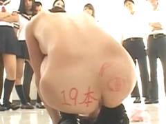 Crazy Japanese chick Junko Hayama in Amazing Girlfriend, BDSM JAV clip