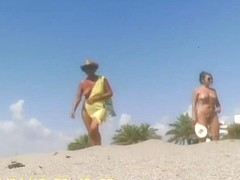 Nudist Beach - Tennis Lesson