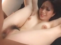Horny Japanese chick Hara Koyuki in Incredible DP/Futa-ana, Creampie/Nakadashi JAV movie