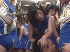 Incredible Japanese slut Uta Kohaku, Nanaka Kyono, Azumi Mizushima in Hottest Cunnilingus, Group S.