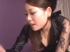 Amazing Japanese girl in Incredible Blowjob/Fera, Secretary JAV video