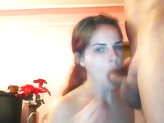 Amazing Homemade clip with Facial, Blowjob scenes