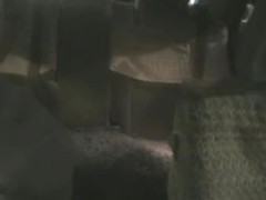 Hidden camera hot Japanese blowjob in the moving cab