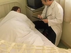 Japanese doctor caught on camera while fucking a patient
