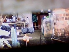 Hidden Web Camera Wet Latin Chick