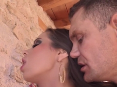 Crazy pornstar Ferrara Gomez in incredible college, outdoor xxx movie