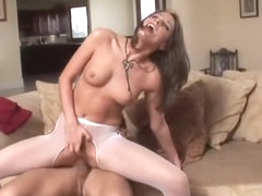 Stunning tori b fucked hard without a condom