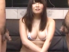Amazing Japanese slut Momo Fukada in Best Handjobs, Threesomes JAV scene