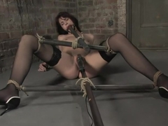 Hogtied welcomes back the beautiful Faith Leon. Now an adult 'A' lister, Faith returns to her roots