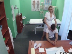 Patient forgeting ex with hot nurse