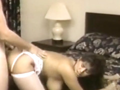 Vintage huge natural saggy tits amateut fucked stockings