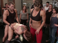 Too Swoll to Control: Cheyenne Jewel brought to her knees!