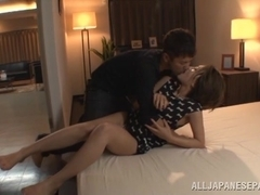 Karen Aoki is a naughty Asian milf getting hot sex