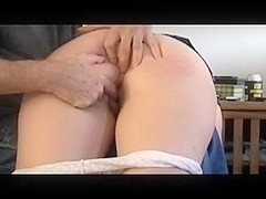 Blowjob After A Spanking