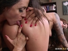 Hot And Mean: Selling The Sybian. Ariella Ferrera, Karmen Karma