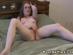 Horny Naked Ex Girlfriend Caught Masturbating On Cam