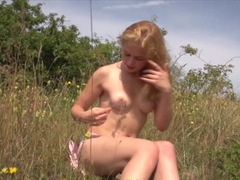 Hottest pornstar in horny outdoor, redhead adult scene