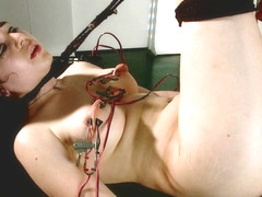 Bobbi Starr Naidyne in Fresh Faced And Freshly Electro-Fucked - Electrosluts