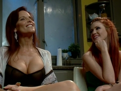 Incredible lesbian, redhead xxx clip with crazy pornstars Syren de Mer and Elle Alexandra from Whi.