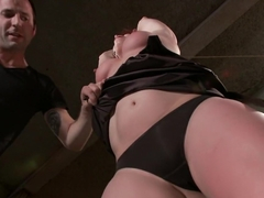 Crazy fetish adult clip with incredible pornstar from Dungeonsex