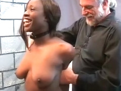Big tits chick bondage in lascivious home scenes